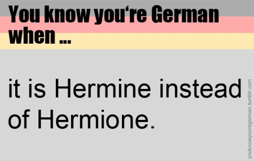 In Germany even first names are translated and rewritten.