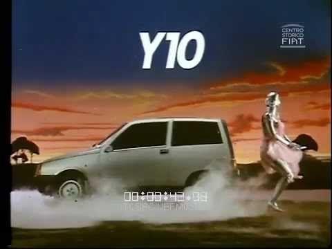 AD Lancia-Autobianchi Y10 - La città del futuro (Robot car) \ 1985 \ ita
