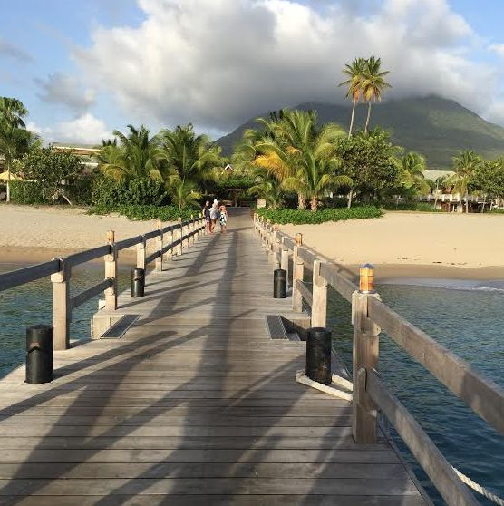 We arrived in St Kitts at the Robert L Bradshaw International Airport and breezed through customs. We hopped aboard a taxi to th...