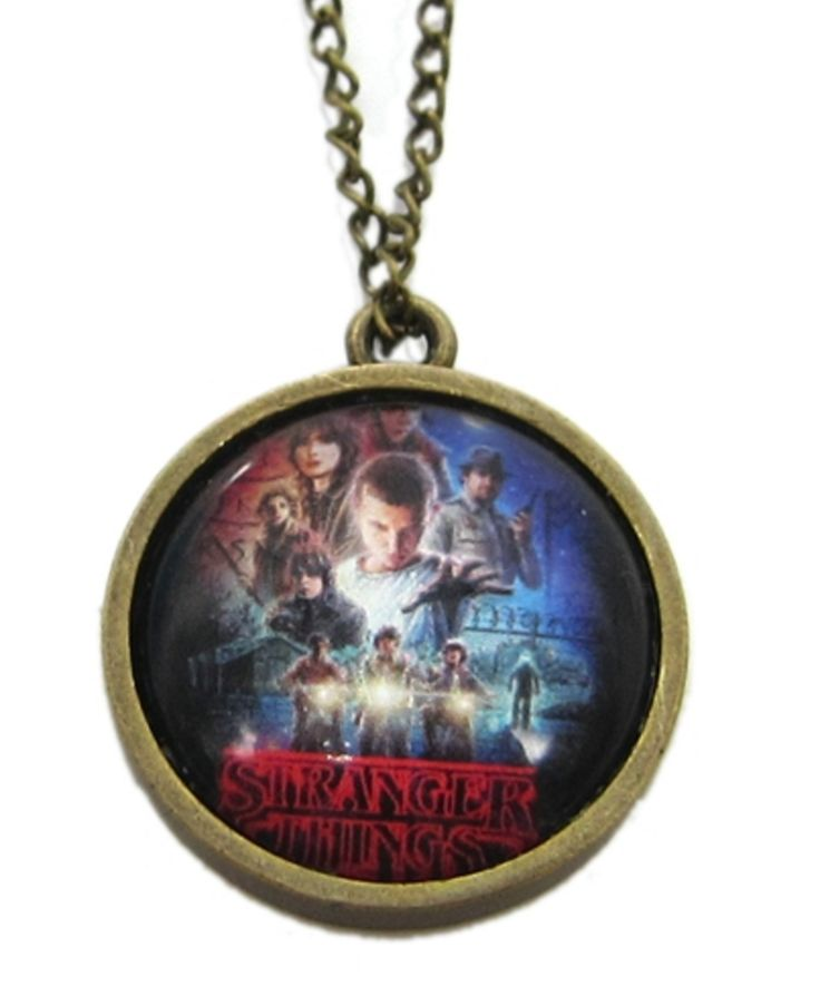 Stranger Things Necklace Alloy Metal Pendant Hot TV Series Fashion Jewelry For Women and Men //Price: $10.99 & FREE Shipping //