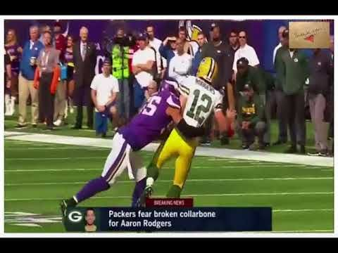 Aaron Rodgers was livid at the player who caused his broken collarbone Plus de 2 000 000 recherches ,Recherches associées,green bay packers, packers, brett hundley, vikings, minnesota vikings, packers vs vikings, packers game, aaron rodgers injury, packers score, vikings score, nfl week 6