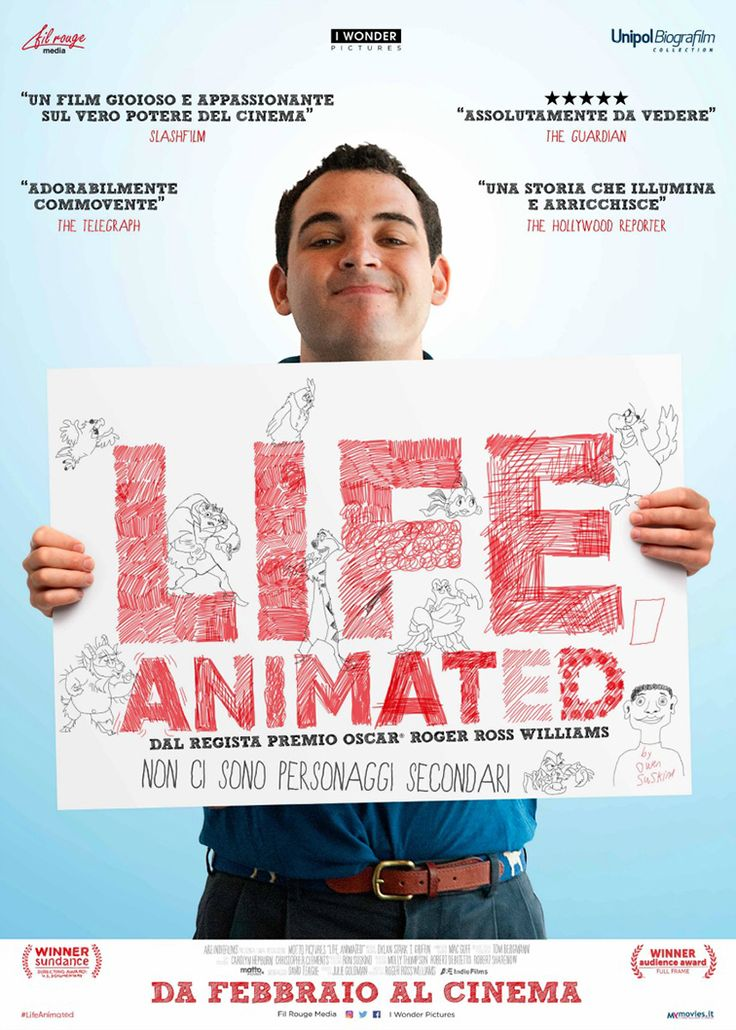 Life, animated (USA 2016) - poster Italia