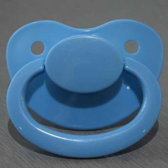 Adult Sized Baby Blue Pacifier Dummy For Adult Baby Abdl