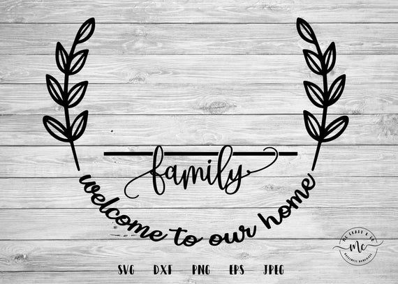 Download Monogram SVG Family Name svg Last Name svg Farmhouse Sign ...