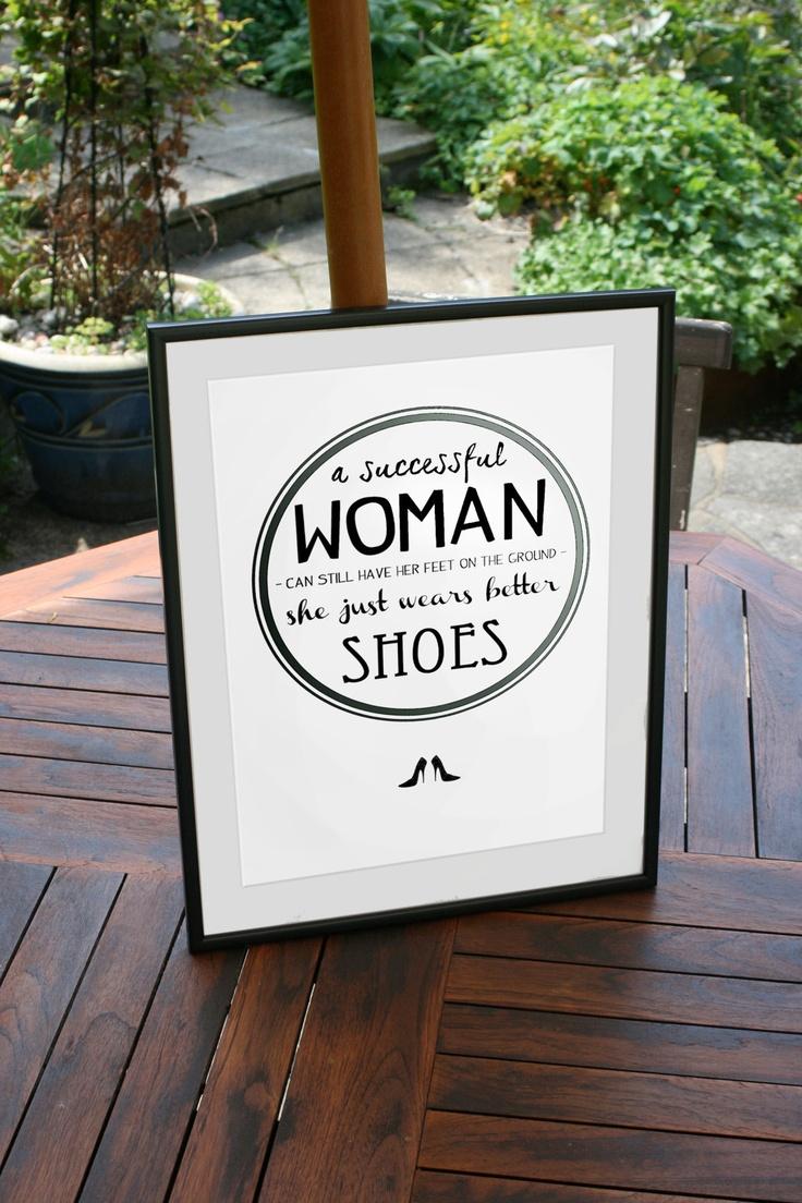 Better Shoes Screenprint. £30.00, via Etsy.