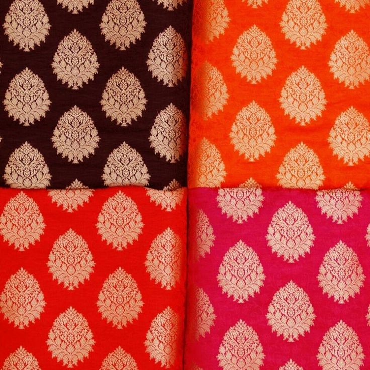 Just arrived : Brocade fabrics.   Price : Rs. 430.00 per meter. Courier charges extra. We ship world wide.  Enquiry / Order : +91 9879549946 ( call or Whats App ).  Payment : HDFC / Axis bank. ( cash / cheque / online transfer ). Paytm - 9879005771.  International : Paypal (akaar56@gmail.com).  Store Address : Akaar : L.L.28, Arjun Tower, Opp.AB jewels, Shivranjani  Crossroads, Satellite, Ahmedabad - 380015. Gujarat. India.  Manufacturer / Retailer / Wholesaler / Exporter.