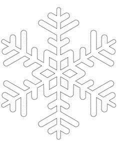 christmas snowflake templates