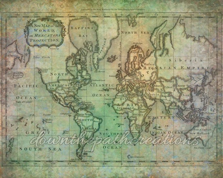 The 25 best world map printable ideas on pinterest geography vintage antique world map printable download art print sciox Image collections