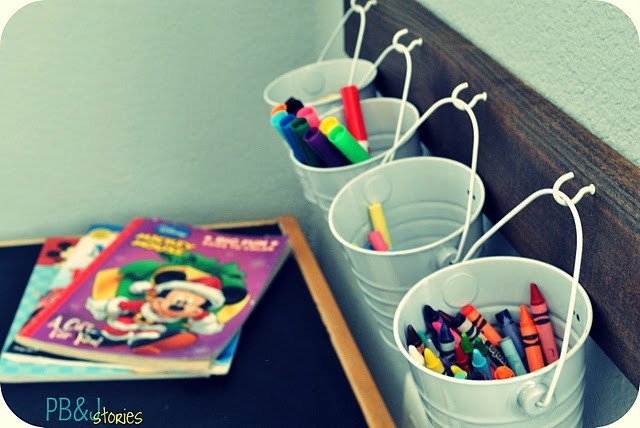 Been wanting to do this with paint buckets bucets on the - Supplies needed to paint a room ...