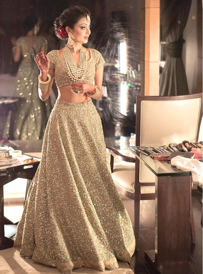 Madhuri Lehenga - A masterpiece from Sabyasachi's Spring-Summer 2016 Bridal Collection.