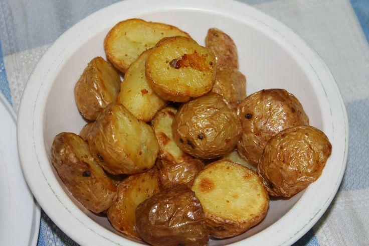 Docinho de côco: Batatas novas na actifry