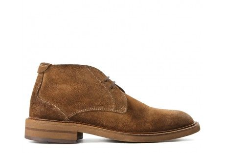 Corelli Suede Dip Dye Brown Boot | Sand Men's Chukka Boot | How to style Chukka boots | https://www.hudsonshoes.com/corelli-suede-dip-dye-brown-boot.html