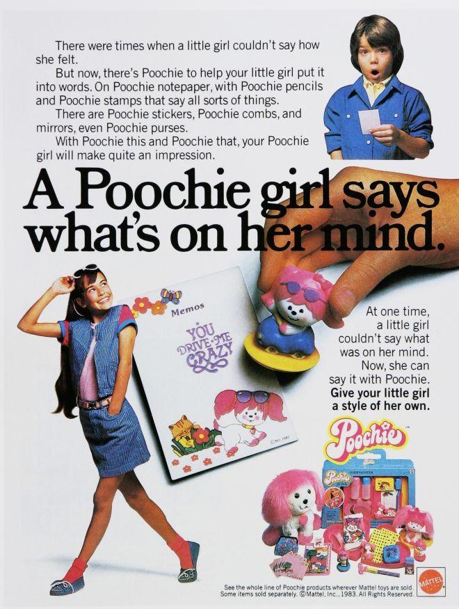 Poochie Toy Dog Advert