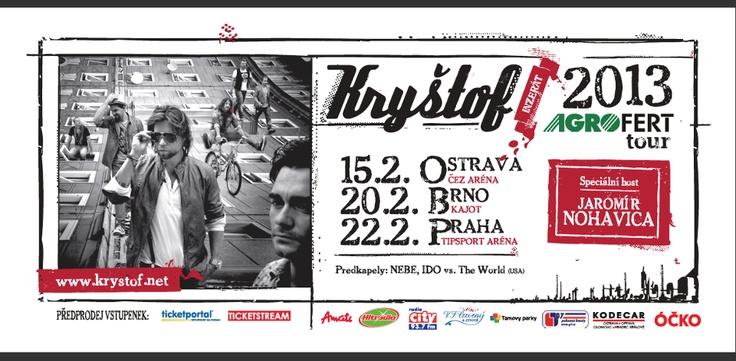 Kryštof Inzerát tour 2013