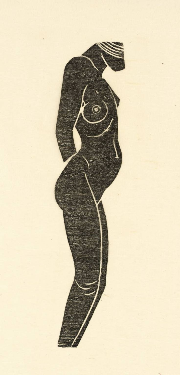 Eric Gill Hottentot 1920 - I prefere this to Mati$$e you could buy a few hundred of Gills drawings for a single etch a sketch drawing by Mati$$e