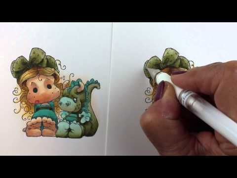 Copic Coloring WOW Factor | Simon Says Stamp Blog by Sandy Allnock.  October 2014