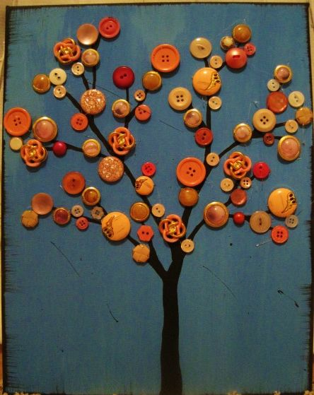 button tree art                                                                                                                                                     More
