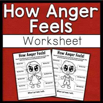 An anger management worksheet to help students identify how their bodies feel when they are angry. Also provides space for them to list three ways that they can cope with their anger. Great for anger management groups or individual lessons! Includes a worksheet with a boy and a girl. ASCA Mindsets and Behaviors: Mindset 1. Belief in development of whole self, including a healthy balance of mental, social/emotional and physical well-being. ...