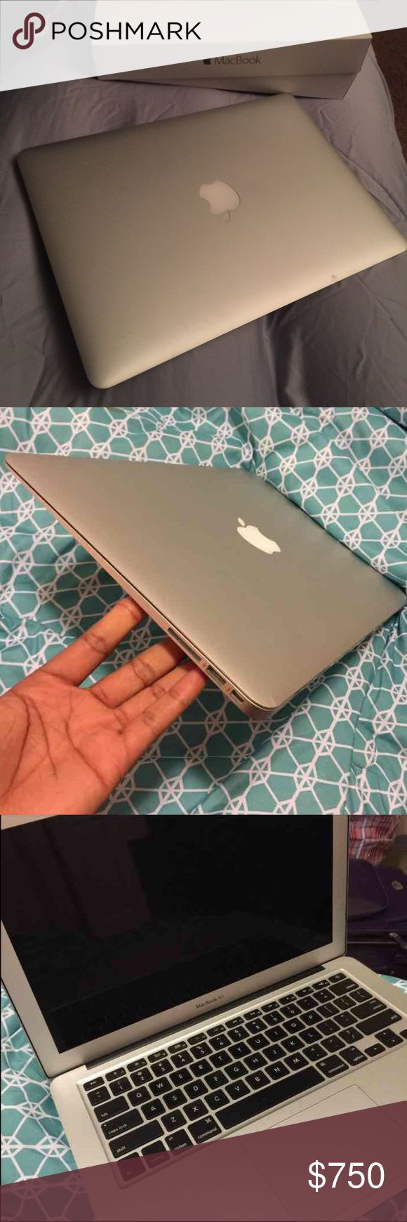 ‼️Brand new MacBook Air on sale‼️ It's almost new. Had for a month and upgraded to the latest MacBook.(my boyfriend got me a new one so I decided to sell this and get the money back).It has no scratches because I had a cover on it. It's got 128GB storage.It's a screen size of 13 inches .Processor; 1.6GHz dual_core Intel i5 RAM memory 8GB.720p FaceTime HD camera.Battery lasts 12 hours .I can try to negotiate but please be fair because it's almost new and in real good condition. Box just for…