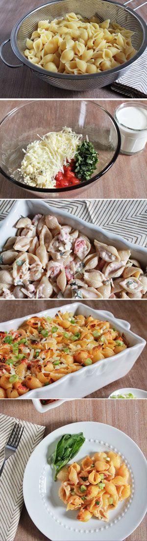 Easy Pasta Al Forno is rich, delicious, and heart-warming   www.biggirlssmallkitchen.com