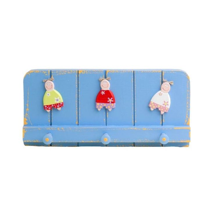 Wooden Wall Hook for Boys