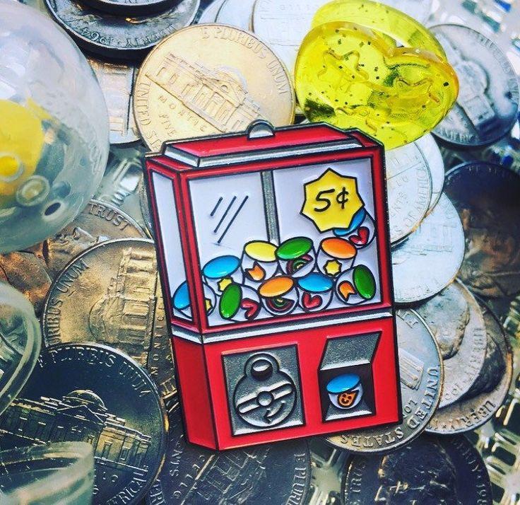 Prize Toy Machine Pin by Kim Petty