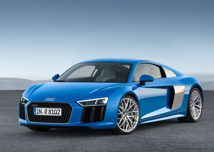 2016 Audi R8 V10 : Flat, Wide and Moscular