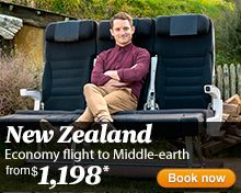 Air New Zealand - Cheap Flights, Discount Vacations - Official Site
