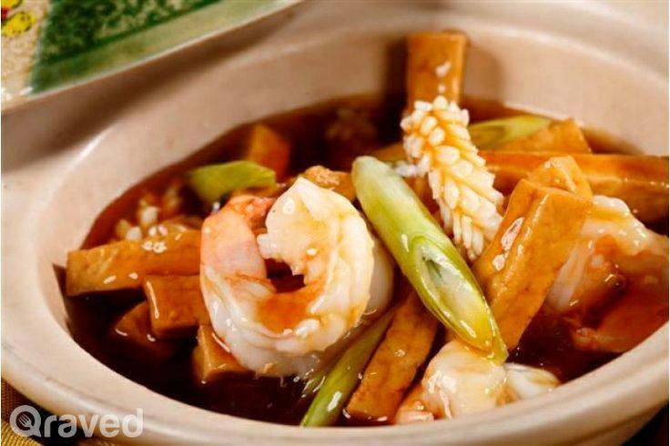 Angsio Tahu Dengan Hidangan Laut Dalam Sapo at Nan Xiang & Shanghai Cuisine Senayan City