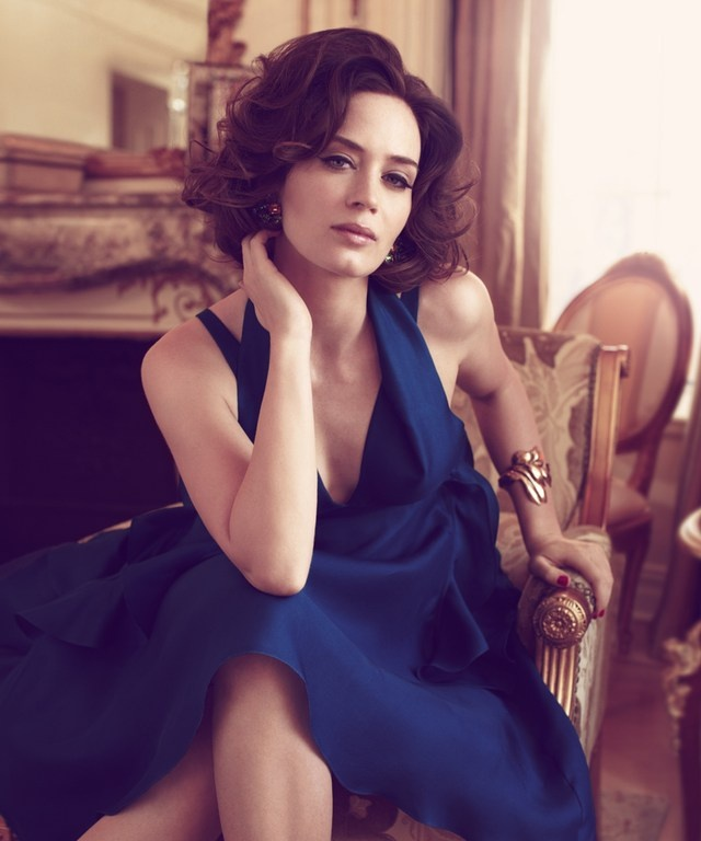 Emily Blunt by David Roemer.
