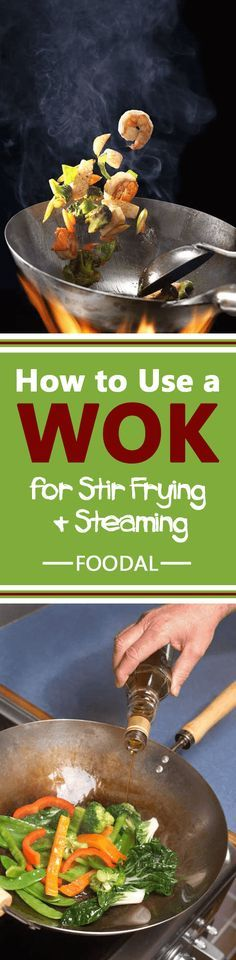 Interested in learning the basics of cooking with a wok? If so, check out this guide. We go through selection and seasoning of your wok as well as stir frying, steaming, and deep frying techniques and give you a ton of pointers to get you started off on the right foot. Read more now. http://foodal.com/kitchen/pots-pots-skillets-guides-reviews/guides/how-to-use-a-wok-for-stir-frying-and-steaming/
