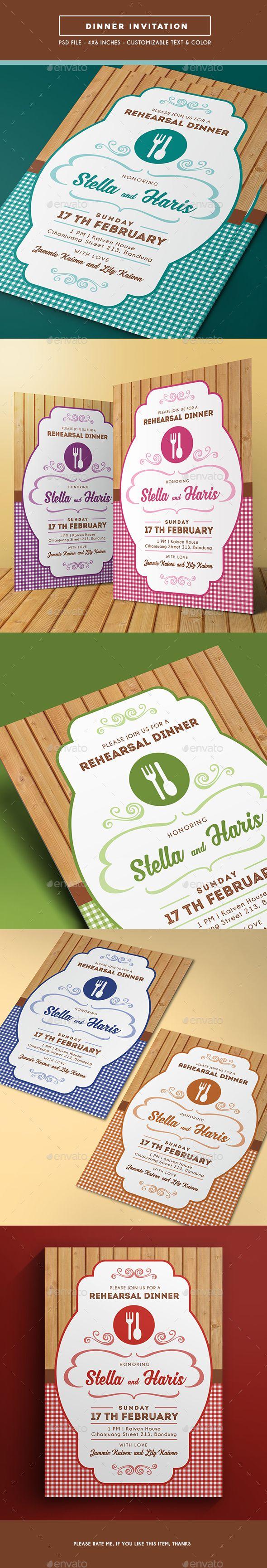 business event invitation templates%0A Dinner Invitation