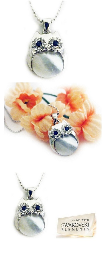 owls, cats eye stone