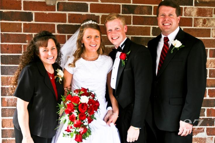 Mr and Mrs. David Waller with Jim Bob and Michael Duggar:)
