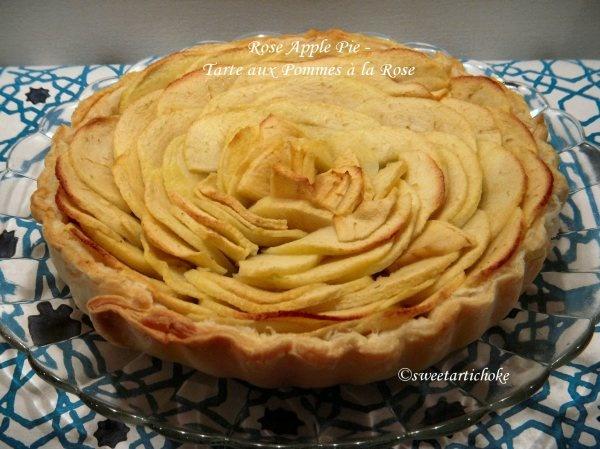 Rose Petal Apple Pie   Baking   Pinterest   Apple pie ...