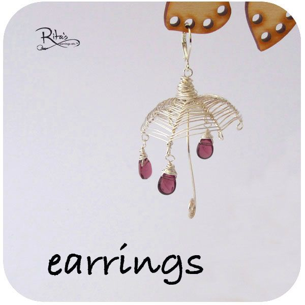 My passion - earrings that I've made or created :)