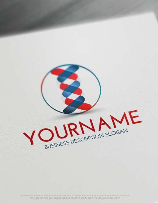 Online Logo Creator – DNA Logo Maker