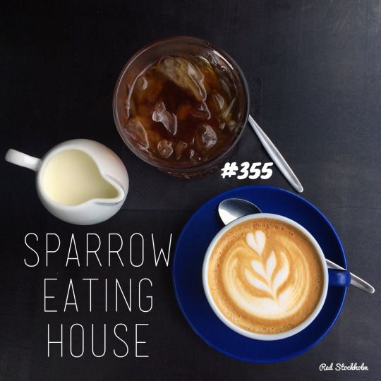Sparrow Eating House. Gold Coast. 365 coffees. 365 cafes. 365 days.