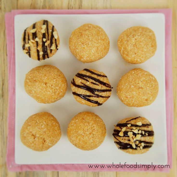 Mix and Make Peanut Butter Bliss Balls