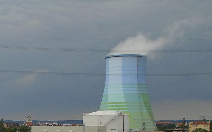 Camouflaged Cooling Tower In Germany Cooling Tower Tower Water