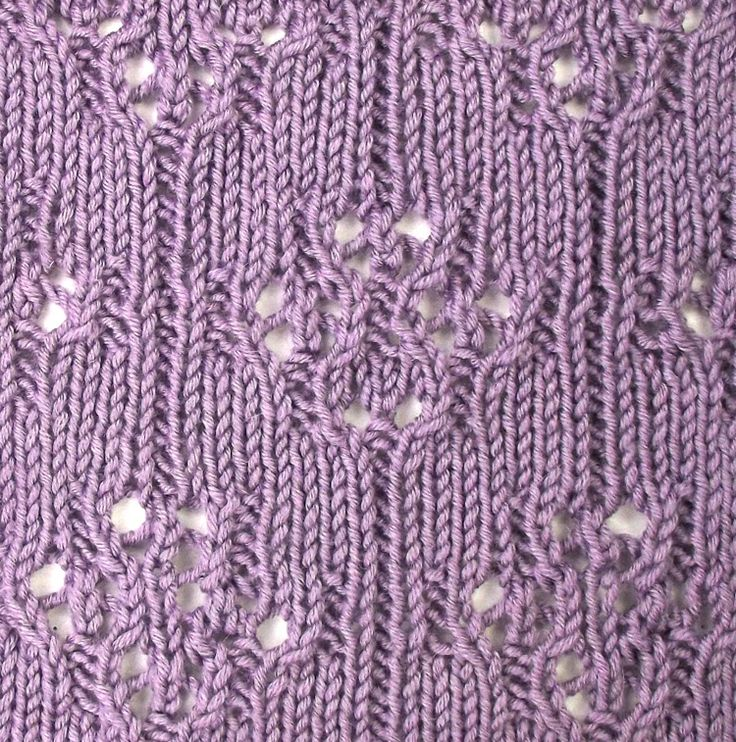 Knitting Stitch Patterns Lace : Curated knitting technique and stitches ideas by
