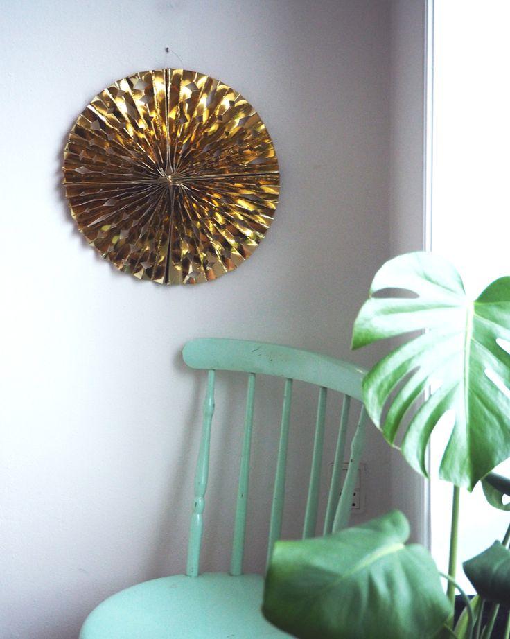 Beautiful Gold wall star ♥ helt og aldeles: DIY