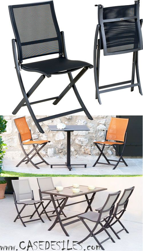 Les 25 meilleures id es de la cat gorie chaise pliante design sur pinterest - Chaise pliante pas cher ...