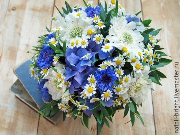 Купить Букет невесты из полевых цветов - букет невесты, букет невесты из цветов, цветы на свадьбу
