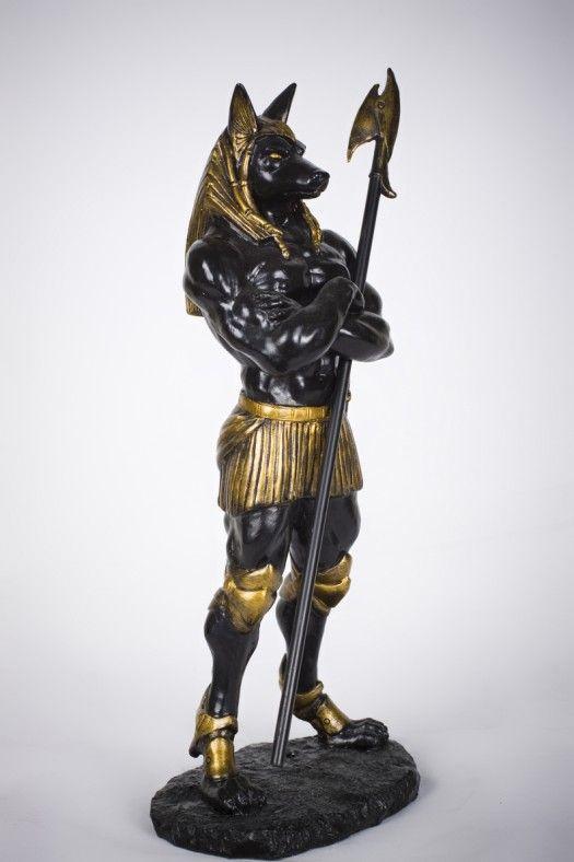 Anubis Statue | Ancient Egyptian Mythology Anubis Statue Embalmer God of Afterlife 11 ...