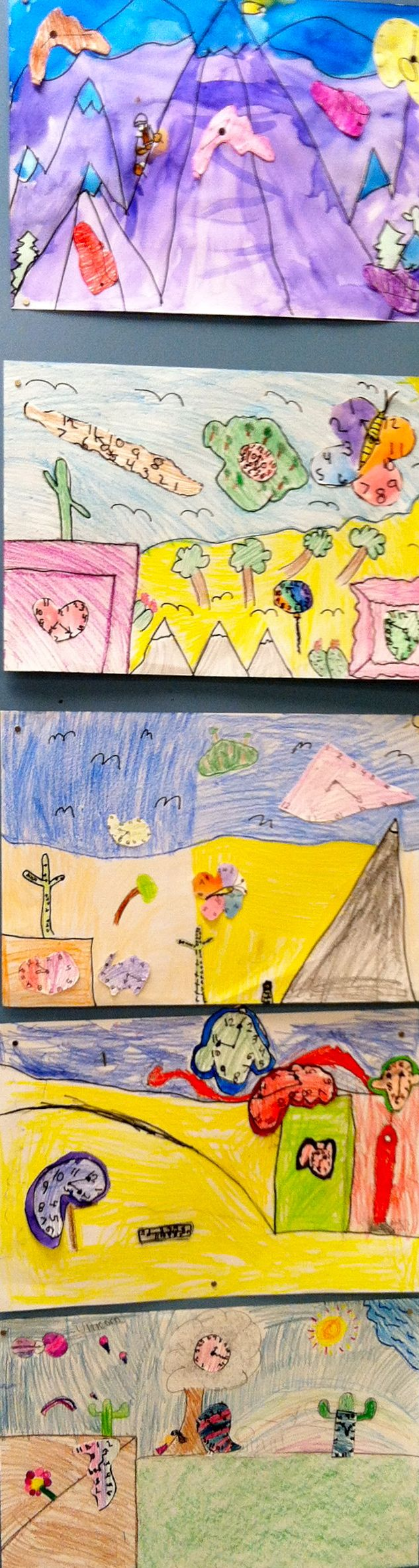 """Telling time the unusual way with Salvador Dali! Get this really fun and """"unusual"""" art lesson to help reinforce time telling and Dali's art."""