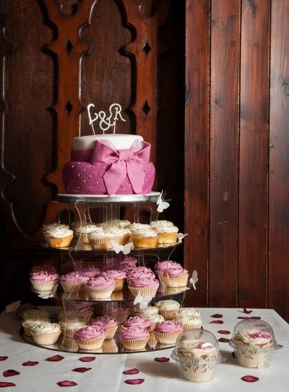 Luke and Roxy Wedding Cake 12.01.13