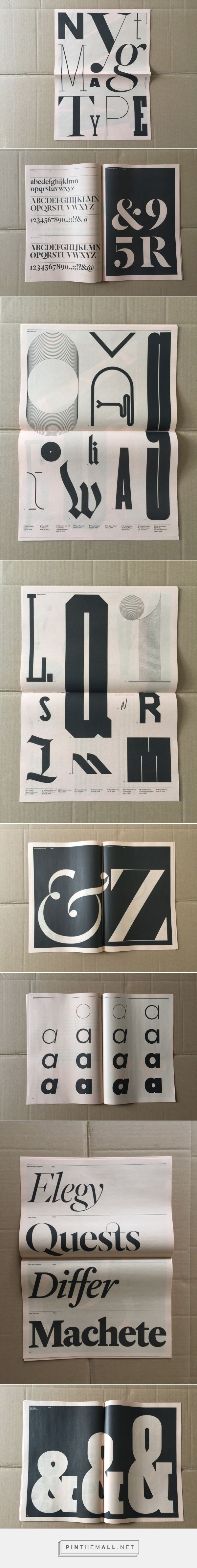 New York Times Magazine celebrates bespoke type in new show and publication - Creative Review... - a grouped images picture - Pin Them All