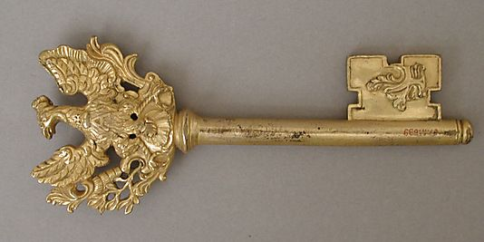 Key | Date: mid-18th century | Culture: German | Medium: Bronze-gilt