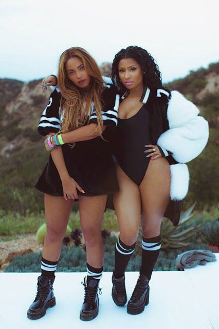 Beyonce and Nicki Minaj Feeling Myself Video